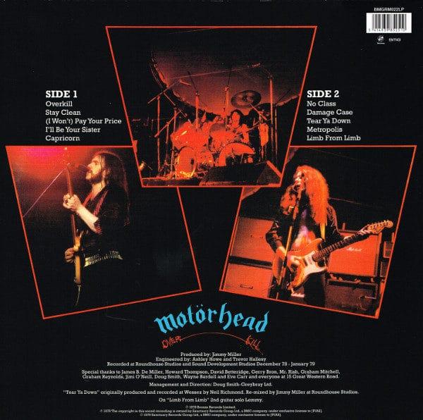 Motörhead - Overkill (LP) | Rythmos Music Store